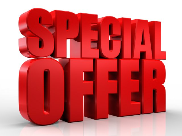 Special Offer shutterstock_117843931